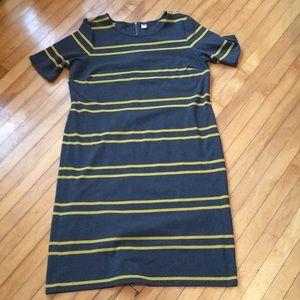 Old navy Striped Sheath Dress XXL